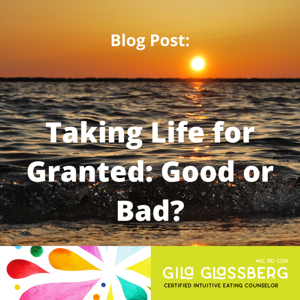 Taking Life for Granted_ Good or Bad_